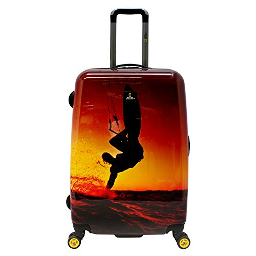 National Geographic Adventure of Life Skysurf valigia a 4 ruote 78 cm skysurf