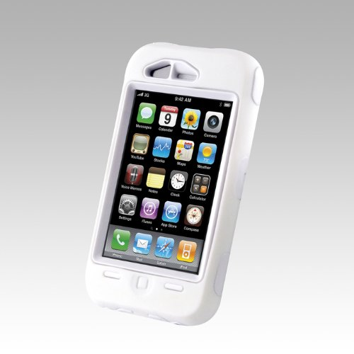 OtterBox Defender Case for iPhone 3G, 3G S - White