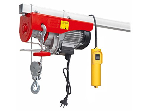 Overhead Crane Winch : Lb overhead electric hoist crane lift garage winch w