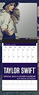 2013 Taylor Swift Locker Calendar