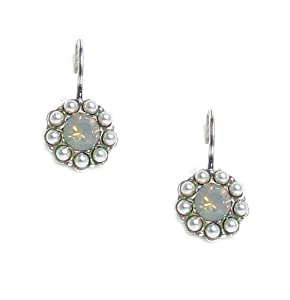 """Amazon.com: Mariana """"Magnolia"""" Collection Antique Silver Plated Flower"""