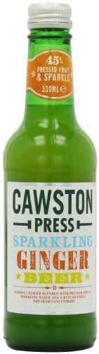Cawston Vale Sparkling Ginger Beer 300 ml (Pack of 6)