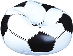 Leisair Beanless Bag Soccer Ball Chair from Rhode Island Novelty