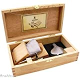 AUSTERN-Besteck OYSTER-Set LAGUIOLE neu+ovp in Holzbox