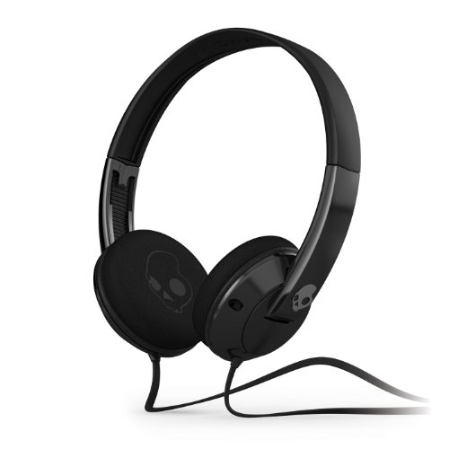 Skullcandy Uprock 2.0 On-Ear Headphones - Black/Black