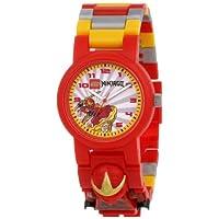 レゴキッズ ニンジャゴー(カイ) ウォッチ 腕時計 LEGO Kids' 9006807 Ninjago kai Watch [並行輸入品]