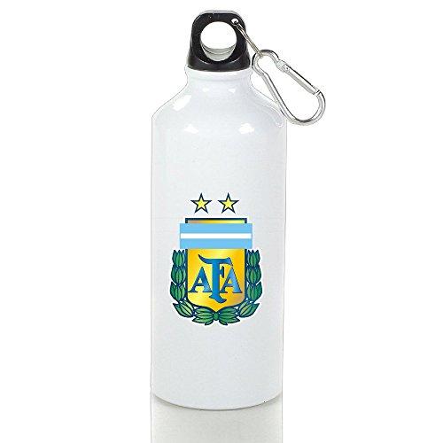 white lightweight aluminum sports water bottle 2016 copa