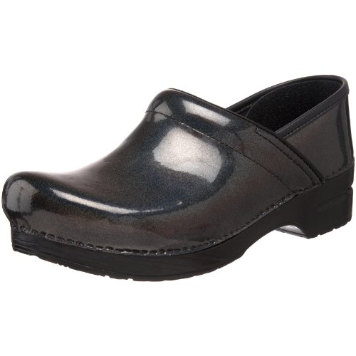Dansko Women's Professional Clog,Grey Prism Patent,39 EU / 8.5-9 M US