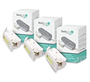 Silk'n SN-007 BellaLite All-Over Hair Removal ECO Lamp Cartridges (3-Pack)