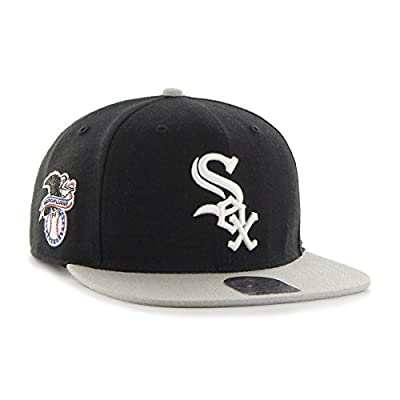 '47 Chicago White Sox Two-Toned Sure Shot Men's Snapback Hat B-SRSTT06WBP-BK