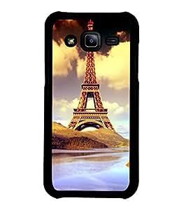 printtech Paris Tower Animation Back Case Cover for Samsung Galaxy J2::Samsung Galaxy J2 J200F
