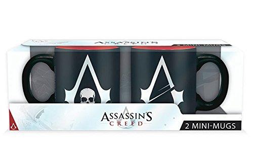 assassins-creed-set-2-mini-mugs-110-ml-crest-logo-x2