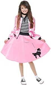 Charades Poodle Skirt - Pink, SM