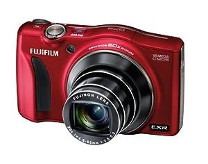 Fujifilm FinePix F770EXR Digital Camera - Red (16MP EXR CMOS Sensor, 20x Optical Zoom) 3 inch LCD Screen