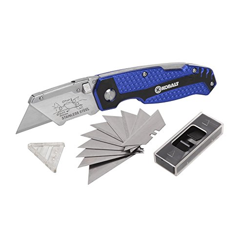 best-choose-new-kobalt-utility-knife-11-blades-foldable-speed-release-quick-change-box-cutter