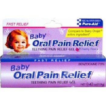 Pure-Aid Baby Oral Pain Relief .42oz