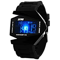 Skmei Casual Chronograph Digital Black Dial Men's Watch - 0817B
