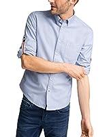 ESPRIT Herren Regular Fit Freizeit Hemd Oxford mit neuer Kragenlösung