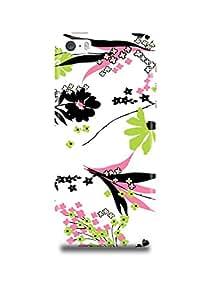 Fashionable Floral Pattern iPhone SE Case