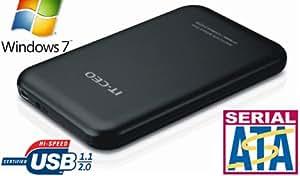 Allcam IT700 USB 2.0 2.5 inch Enclosure for SATA Hard Drive - Black