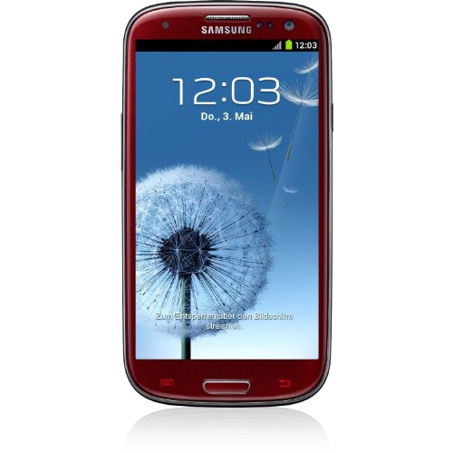 Link to Samsung Galaxy S lll I9300 Unlocked GSM Phone with 4.8″ HD Super AMOLED Screen, 8MP Camera, Android OS 4.0, A-GPS and Wi-Fi – Garnet Red Promo Offer