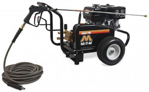 Mi-T-M Jcw-4004-2Mhb Jcw Series Cold Water Belt Drive, 389Cc Honda Ohv Gasoline Engine, 4000 Psi Pressure Washer