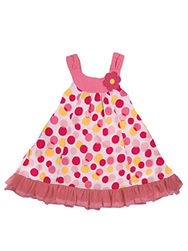 Infant / Toddler Girls Multi Dot Sundress by Little Me - Pink - 2T