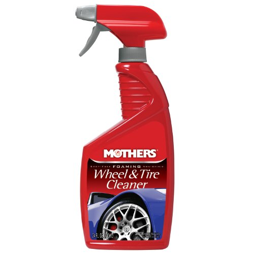 Mothers 05924 Foaming Wheel & Tire Cleaner - 24 oz. (Mothers Wheel Brush compare prices)