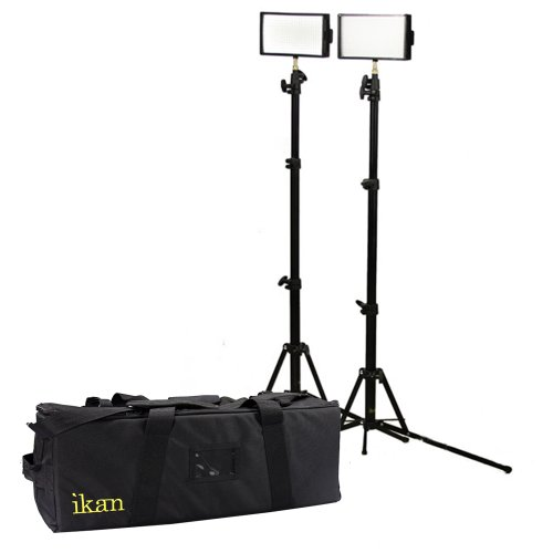 Ikan iLED312-V2-2PT-KIT 312 2-Point Light Kit (Black) image