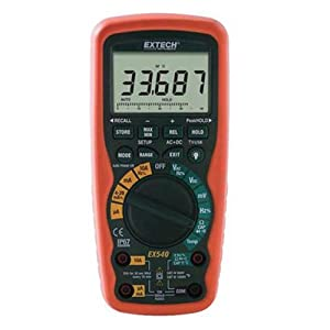 Extech EX540 12-Function Wireless True RMS Industrial MultiMeter And Datalogger
