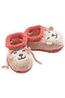 Joobles Organic Baby Booties - Cutie the Lamb