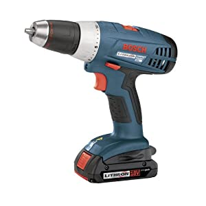 See Bosch 36618-02 18-Volt 1/2-Inch Compact-Tough Litheon Drill/Driver with 2 Slim Batteries Full size and View details