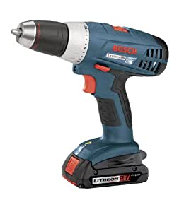 Bosch 36618-02 18-Volt 1/2-Inch Compact-Tough Litheon Drill/Driver with 2 Slim Batteries