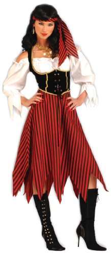 Forum Novelties Women's Pirate Maiden Plus Size Costume