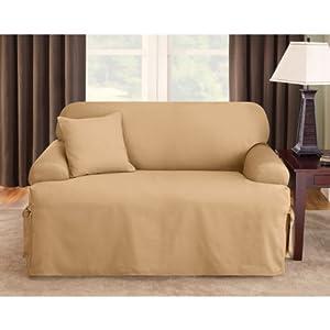 Amazon Sure Fit Logan T cushion Loveseat Slipcover