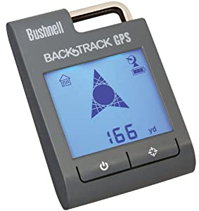 BUSHNELL BACKTRACK POINT 3 STEEL GREY GPS DIGITAL COMPASS 360100