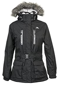 Trespass Women's Snowmass Ski Jacket - Black, X-Small