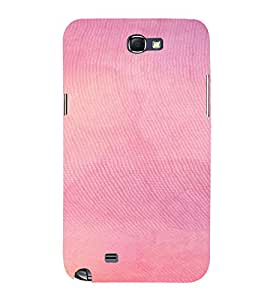 PrintVisa Pink Pattern 3D Hard Polycarbonate Designer Back Case Cover for Samsung Galaxy Note 2