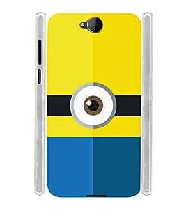 Eye Design Soft Silicon Rubberized Back Case Cover for Microsoft Lumia 650