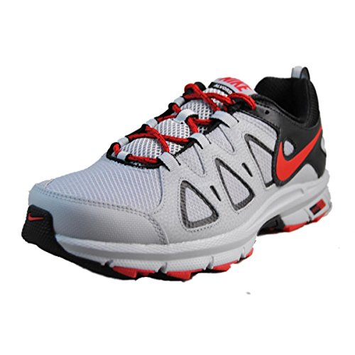 Nike Mens Air Alvord 10 Trail Running Shoe Extra Wide Grey/Red Size 9