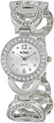 XOXO Women's XO5667 Analog Display Quartz Silver Watch