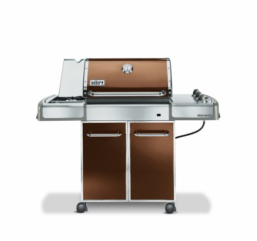 best buy weber 3752001 genesis e 320 propane gas grill copper free shipping gas barbecue. Black Bedroom Furniture Sets. Home Design Ideas