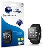 Tech Armor Sony SmartWatch 2 Anti-Glare/Anti-Fingerprint (Matte) Screen Protectors [3-Pack] Lifetime Warranty