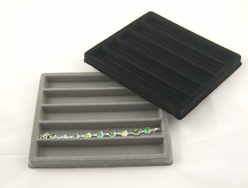 5 Compartment Bracelet Tray/Case Insert(BM97-05) - half size
