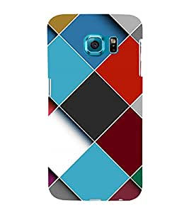 Fuson Premium Back Case Cover Colourful pattern With Multi Background Degined For Samsung Galaxy S6 Edge+ G928::Samsung Galaxy S6 Edge Plus G928F