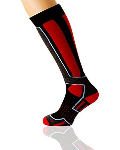 HYRA Calze Sport Basic Sock [Bianco/Rosa]