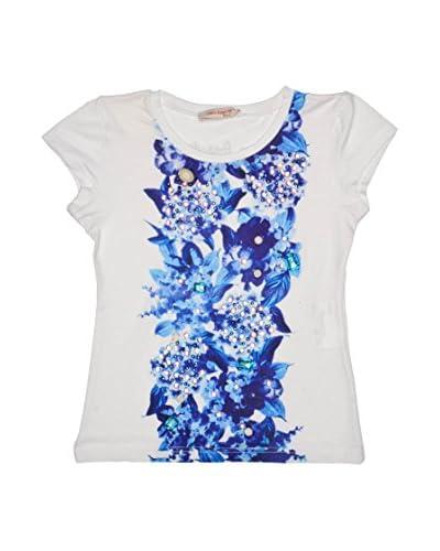 Laura Biagiotti Dolls T-Shirt Lb [Bianco/Blu]
