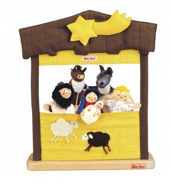 Kathe Kruse Finger Puppet Nativity Theater