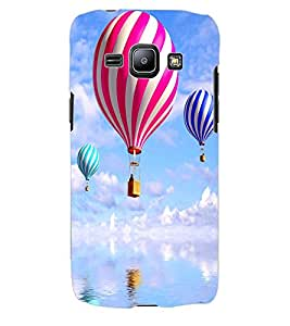 ColourCraft Air Baloons Design Back Case Cover for SAMSUNG GALAXY J1