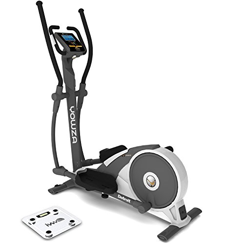 Yowza Detroit Luxx Elliptical Cross Trainer with Wireless Scale - CE Certified | 23.5 Stone User Weight